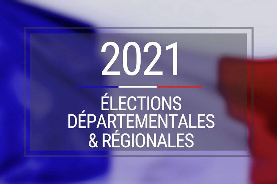 Elections Départementales et Régionales des 20 et 27 juin